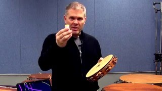 John Parks: BSP video lesson - Tambourine Finger Rolls
