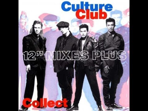 "Culture Club - Miss me blind RARE 12"" mix plus dj Kelton edit 14 February 1984"