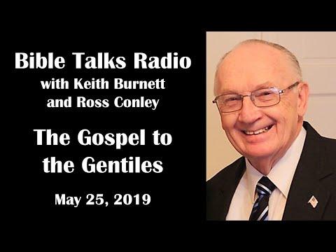 Bible Talks - May 25, 2019