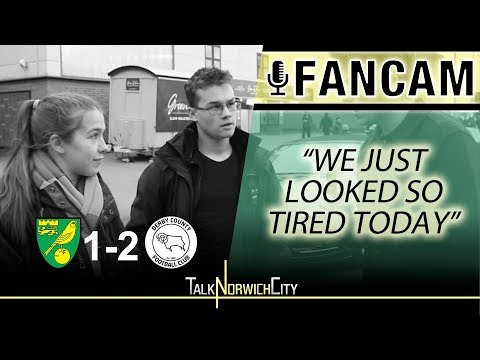 'WE JUST LOOKED SO TIRED' - NORWICH 1-2 DERBY