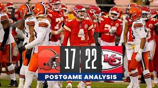 Browns vs. Chiefs: Gutsy 4th down call propels Kansas City to the Championship Game | CBS Sports HQ