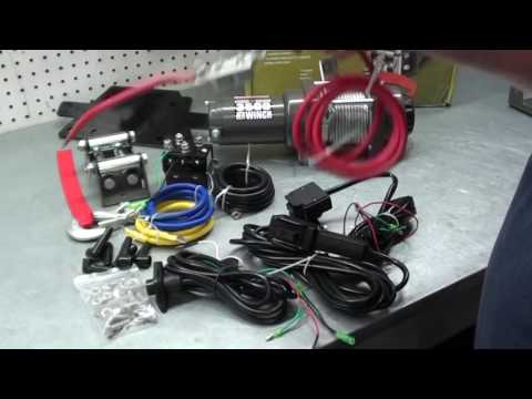 Pt.1 How To Install A Winch On Your ATV/UTV At D-Ray's Shop