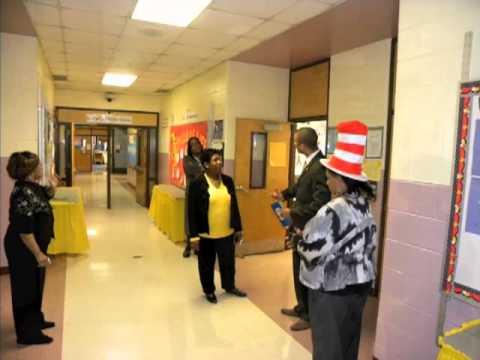 Representative Ralph Long visits Hutchinson Elementary School