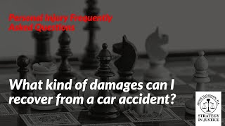 What kind of damages can I recover from a car accident? | Personal Injury Specialist Boynton Beach