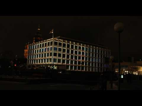 LUX 2017 - Stora Enson pääkonttori - Shader: Cube