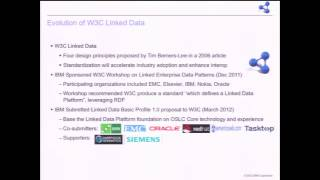 Leveraging W3C Linked Data for Loosely Coupled Application Integrations