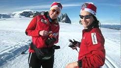 Training des norwegischen Langlauf-Nationalteams auf der Seiser Alm