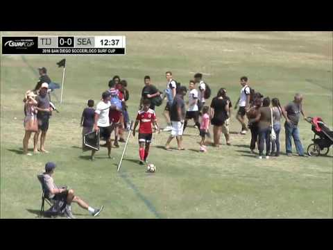 Livestream: 2016 Surf Cup - Xolos (MEX) vs Seattle United (WA) - B17 - 2:15pm - Polo Field