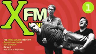 Video XFM The Ricky Gervais Show Series 2 Episode 5 - Its eyes were poppin' out download MP3, 3GP, MP4, WEBM, AVI, FLV September 2018