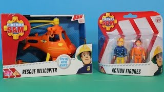 Fireman Sam - Sam Tom and the Rescue Helicopter