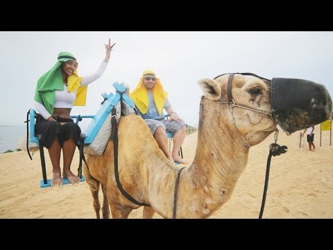 Crazy Camel-back Riding In Natal | Maya's FIFA World Cup™ Cities