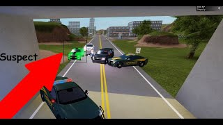 Roblox! // Emergency Response: Liberty County // Police pursuit!