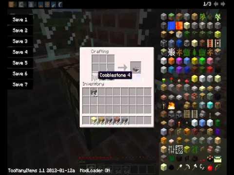 minecraft 1.1.0 EP.10-1 สอนวิธี craft ของทั้งหมด