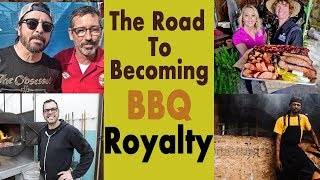 The path to BBQ celebrity...or the path to BBQ greatness