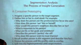 Developing Consumer Prototypes, Consumer Insights 6.1
