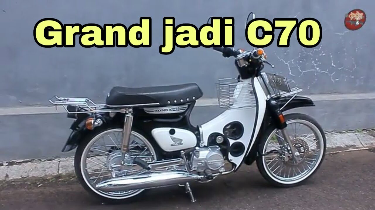 Modifikasi C70 Bassic Honda Grand Youtube