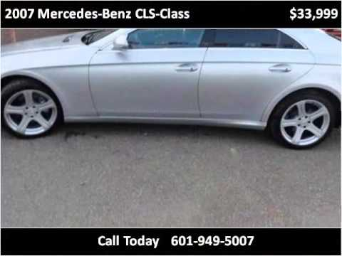 2007 mercedes benz cls class used cars jackson ms youtube for Used mercedes benz jackson ms