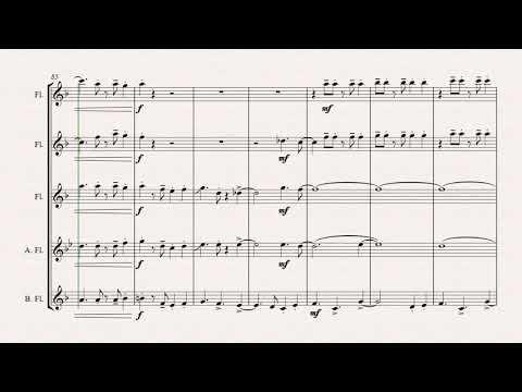 Oh Christmas Tree - Latin - (Oh Tannenbaum) - Flute Quintet