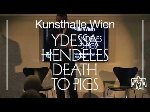 Markus Müller & Gaëtane Verna – Ydessa Hendeles. Death to Pigs