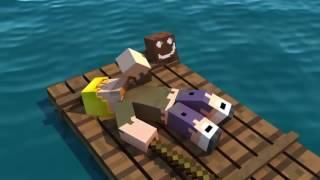 Большое приключение Анимация Minecraft