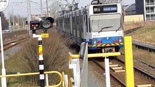🚉🚇Sneltrams op Sneltram station Amstelveen Westwijk (Amstelveen lijn Special Afl. 7)
