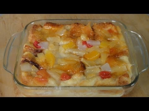 Fruit Bread Pudding  | Sanjeev Kapoor Khazana
