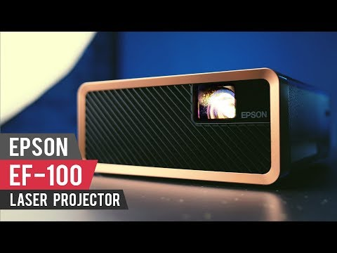 Epson EF-100 Lasers Projector Review - Portable Cinema on Steroids