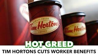 Tim Hortons Heirs Cut Worker Benefits, Blame Minimum Wage
