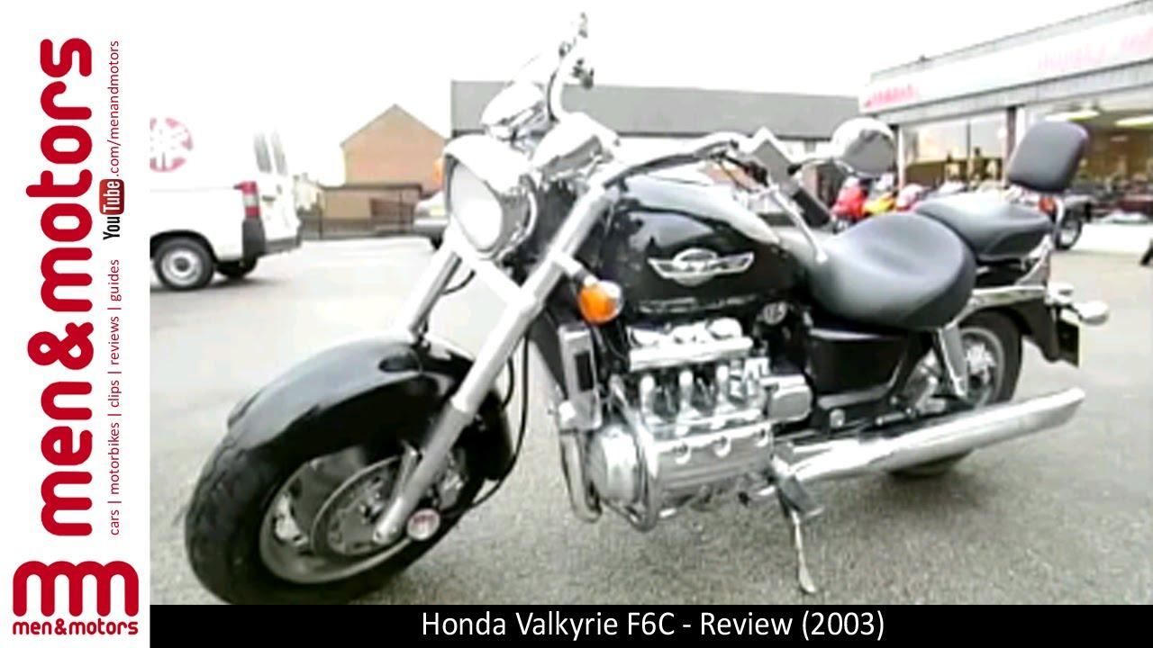 Honda Valkyrie F6c Review 2003 Youtube