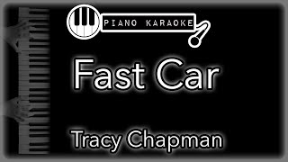 """Piano karaoke instrumental for """"fast car"""" by tracy chapmanyou can now say thank you and buy me a coffee! ☕️it will allow to keep bringing the best pia..."""