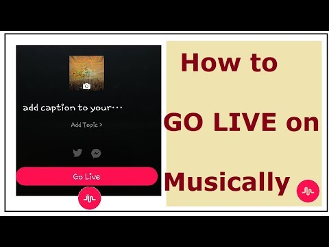 How to Go Live on Musically 2018