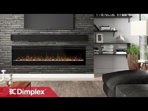 Ignitexl Linear Electric Fireplaces Dimplex Youtube