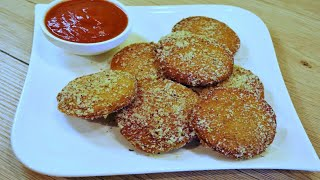 Garlic Mozzarella Bread With Parmesan Dip | By Neetu Suresh
