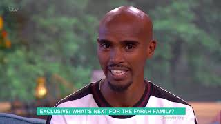 Mo Farah Isn't Hanging Up His Running Shoes Just Yet   This Morning