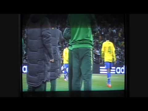 Elano goal (brazil vs ivory coast)