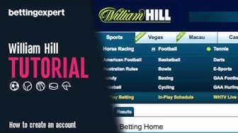 How to open a William Hill account and get a free bet