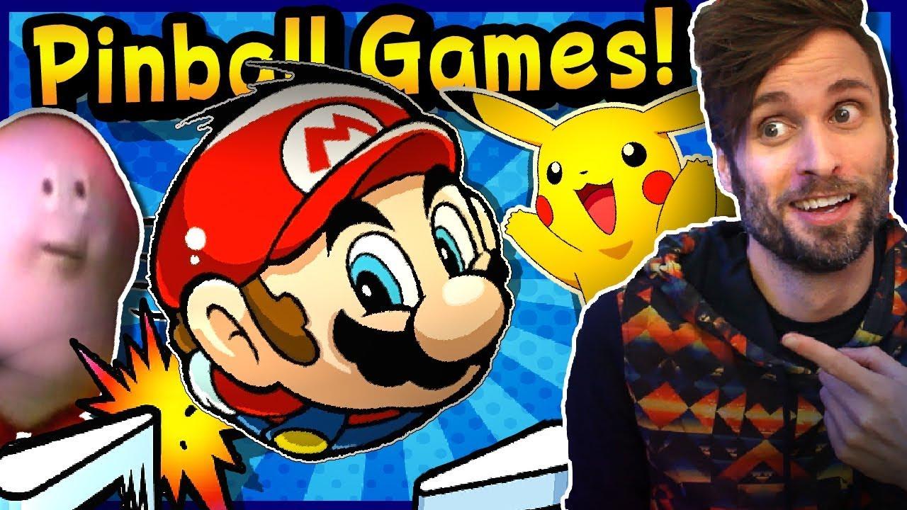 BEST & WORST Nintendo Pinball Games - SpaceHamster