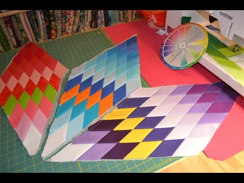 EPISODE 72 ~ Lone Star Quilt Part 1 (Printed Interfacing Method)