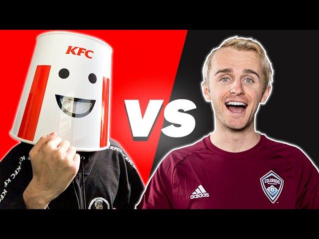 KFCGaming Chicken Challenge #1 (ft. Buck Army)