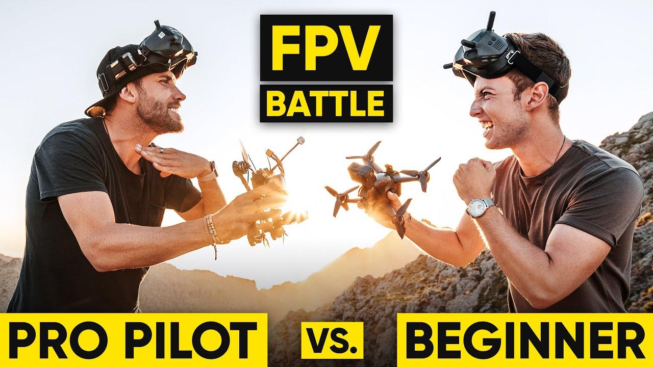 Download Pro Pilot vs. Beginner | CINEMATIC FPV BATTLE!