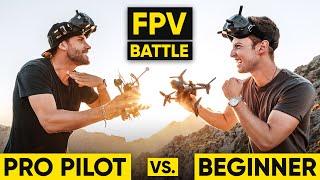Pro Pilot vs. Beginner | CINEMATIC FPV BATTLE!