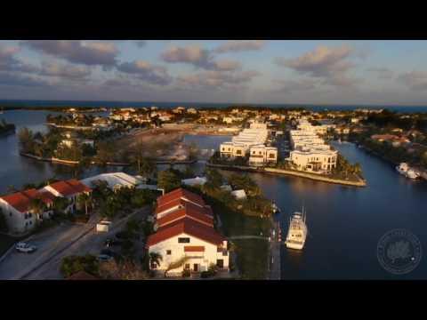 Governor's Harbor Grand Cayman Bebop Drone Flight January 17th, 2017