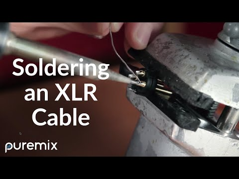 How to Solder a XLR Cable