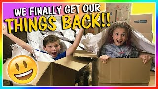 The moving truck has finally arrived! After almost 2 weeks without ...