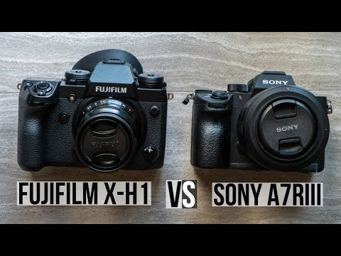Sony A7riii vs Fujifilm X-H1: The Best Mirrorless Camera For You?