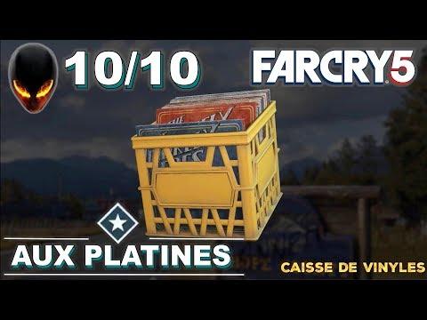 FAR CRY 5 Caisse de Vinyles Localisation / Position Tous 10/10 - Aux Platines : Mission Annexe