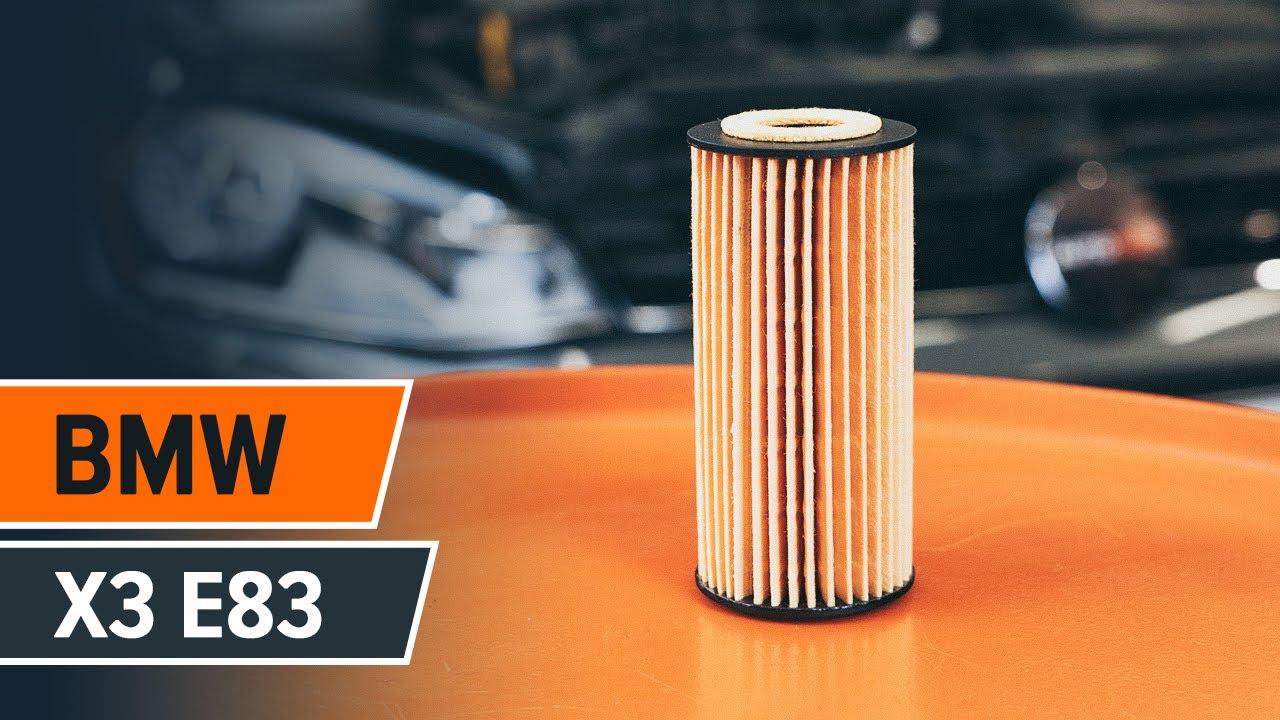Jak Wymienić Olej Silnikowy I Filtr Oleju W Bmw X3 E83 Tutorial