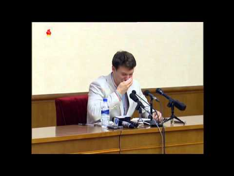 US citizen detained in North Korea gives press conference