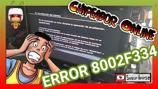 COMO SOLUCIONAR ERROR PS3 8002F334 / ps3 8002f334 bootloop update playstation cfw ofw firmware