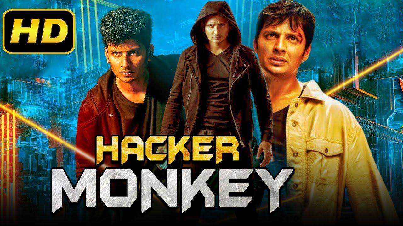 Download Hacker Monkey (2019) Tamil Hindi Dubbed Full Movie | Jeeva, Ajmal Ameer, Karthika Nair